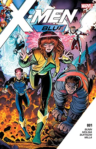 X-Men Blue (2017-2018) No.1