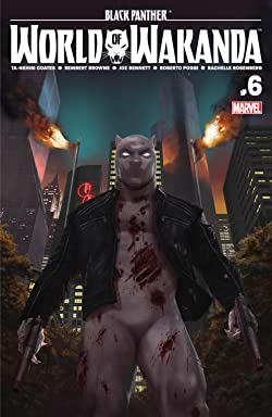 Black Panther: World of Wakanda (2016-) #6