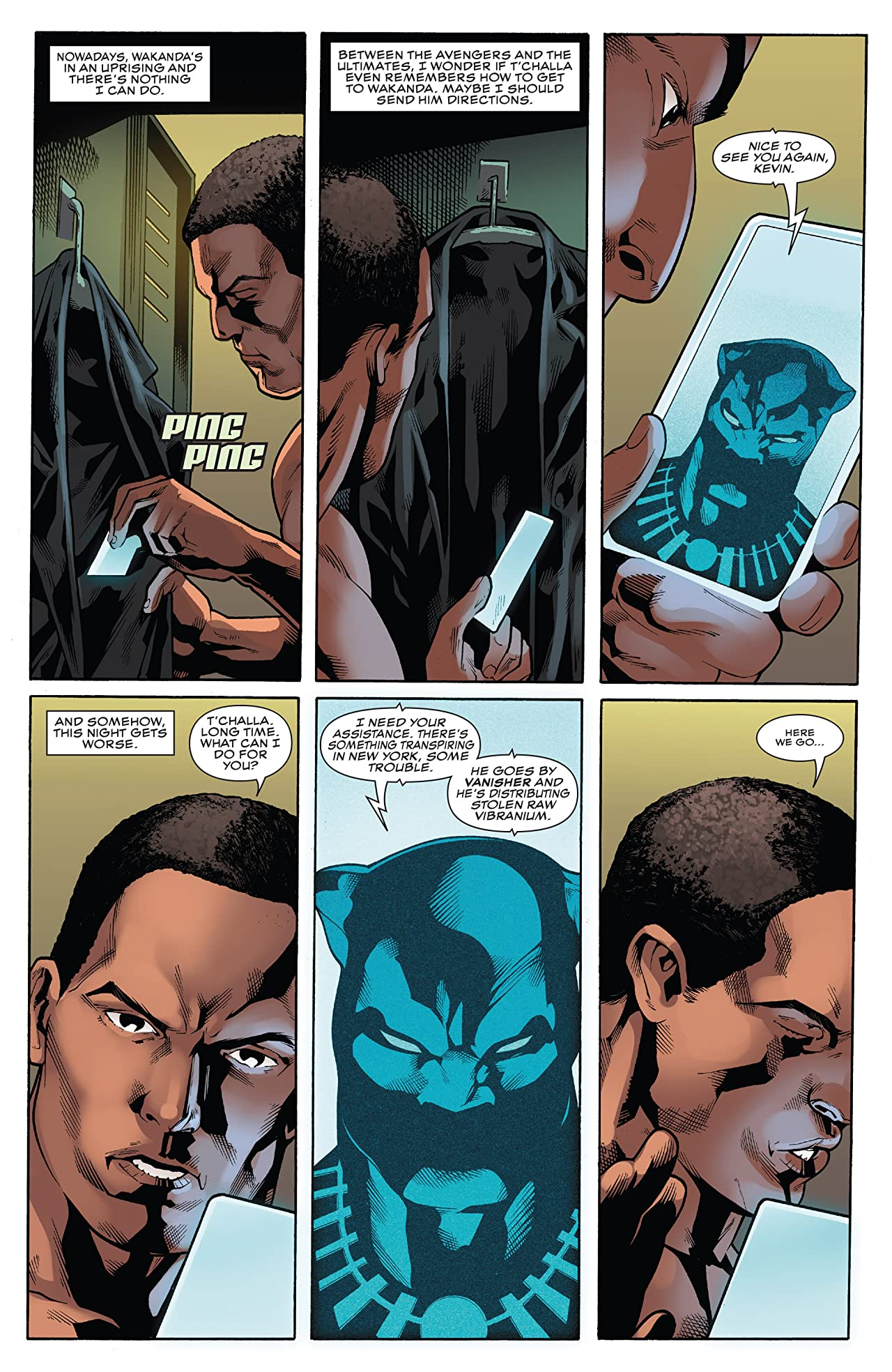 Black Panther: World of Wakanda (2016-2017) #6