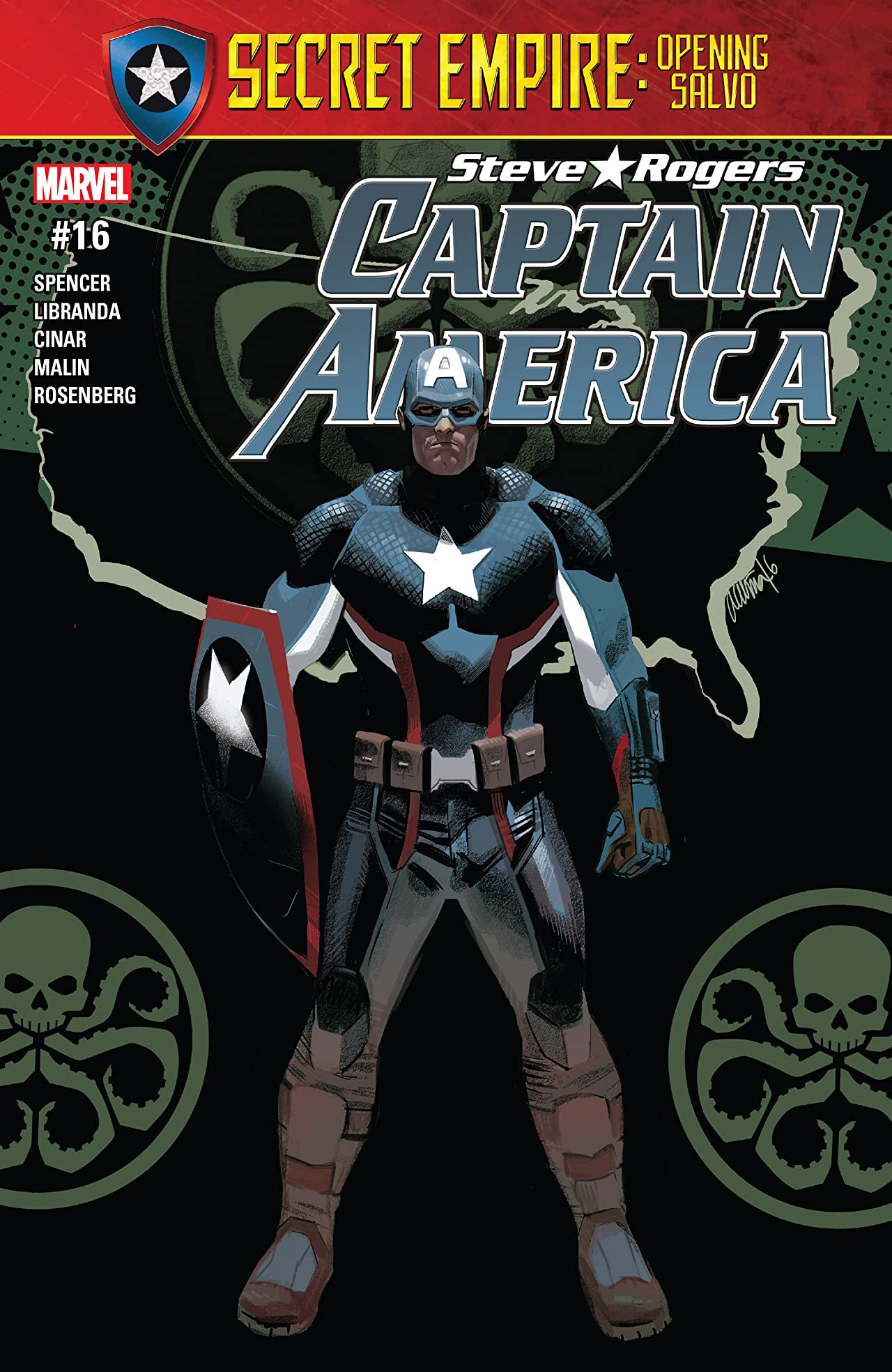 Captain America: Steve Rogers (2016-2017) #16