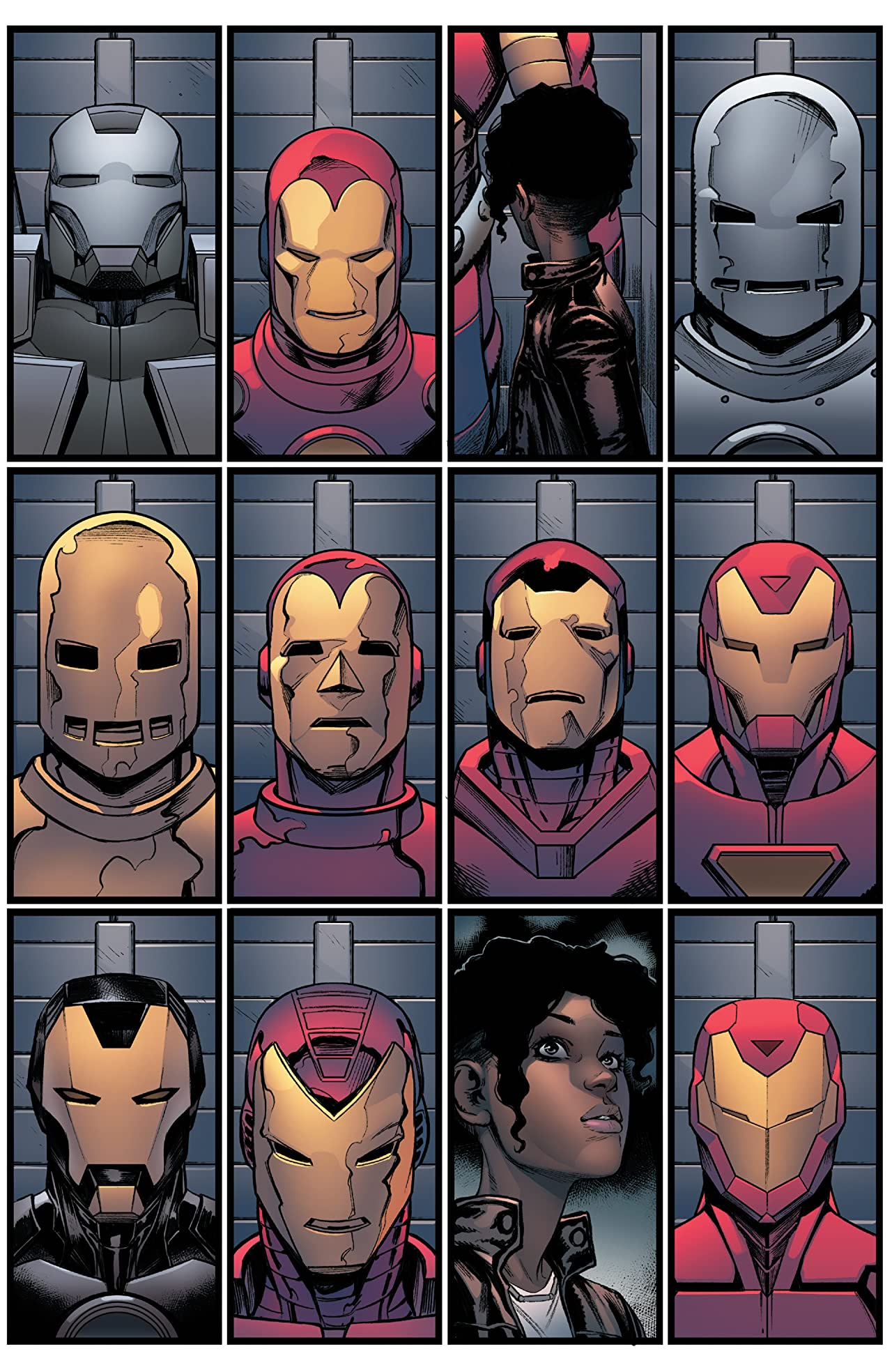 Invincible Iron Man (2016-) #6