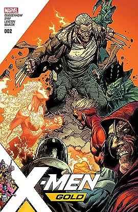 X-Men Gold (2017-2018) #2