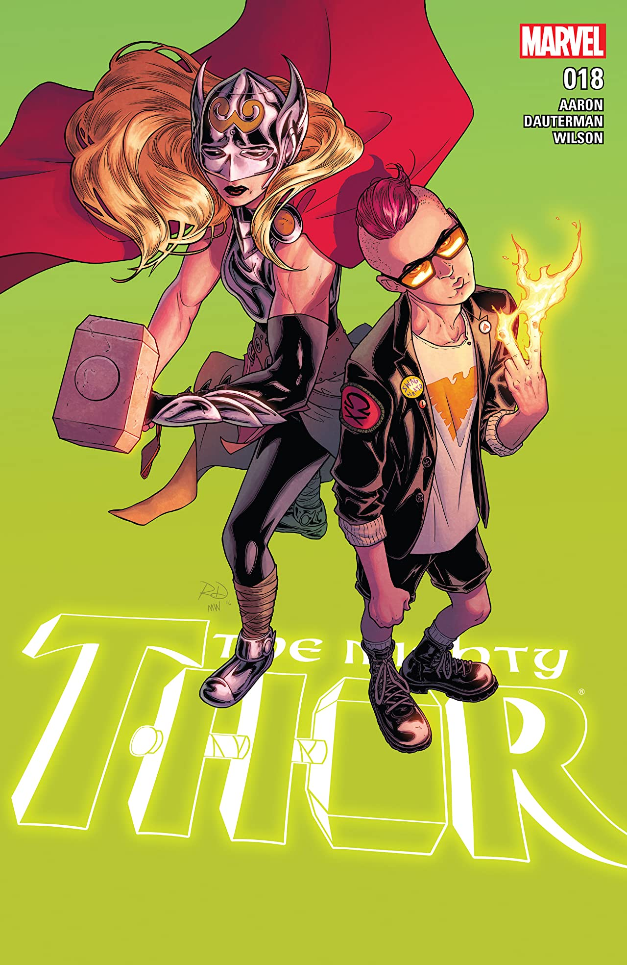 The Mighty Thor (2015-2018) #18