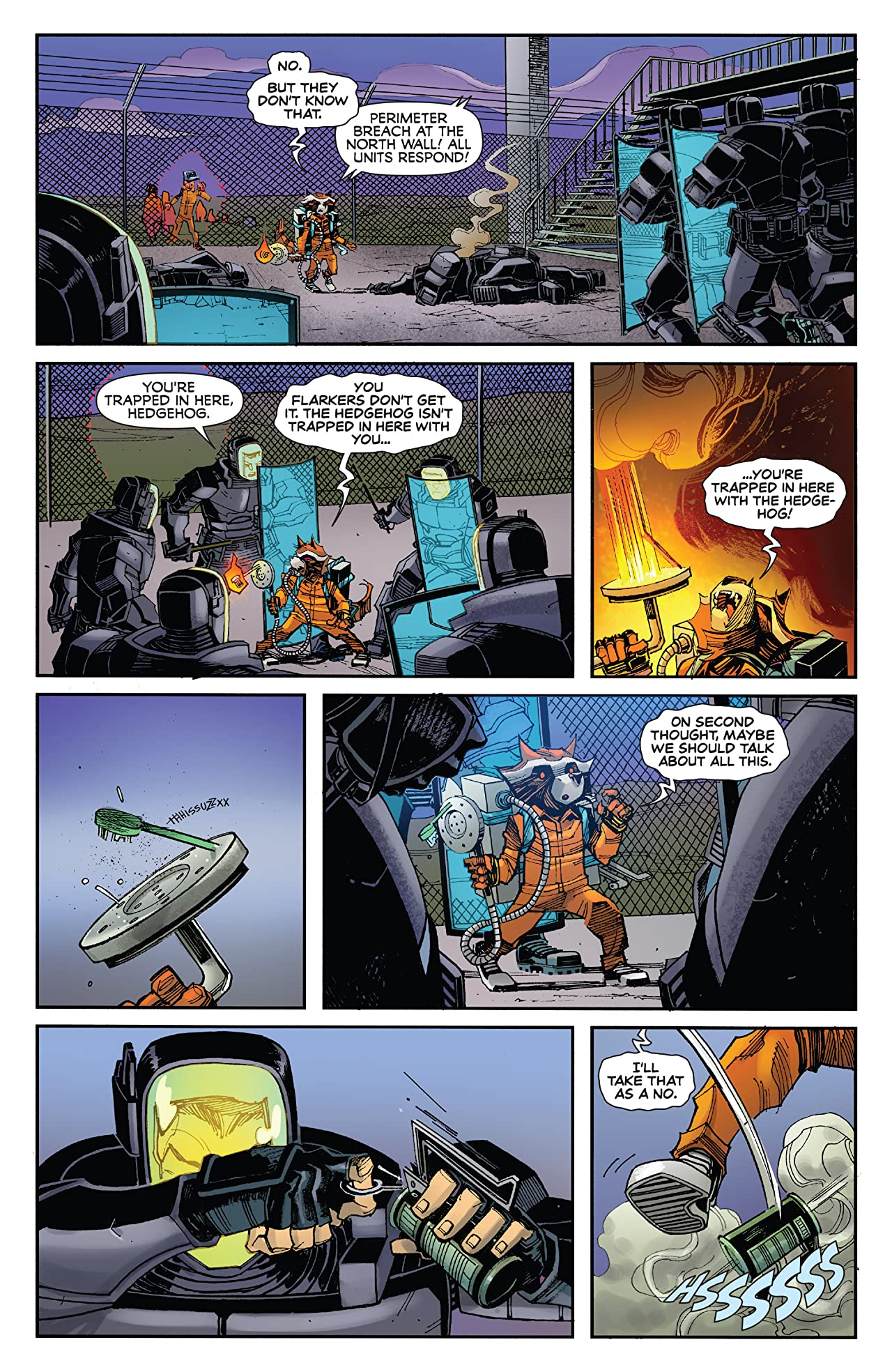 Rocket Raccoon (2016-2017) #5