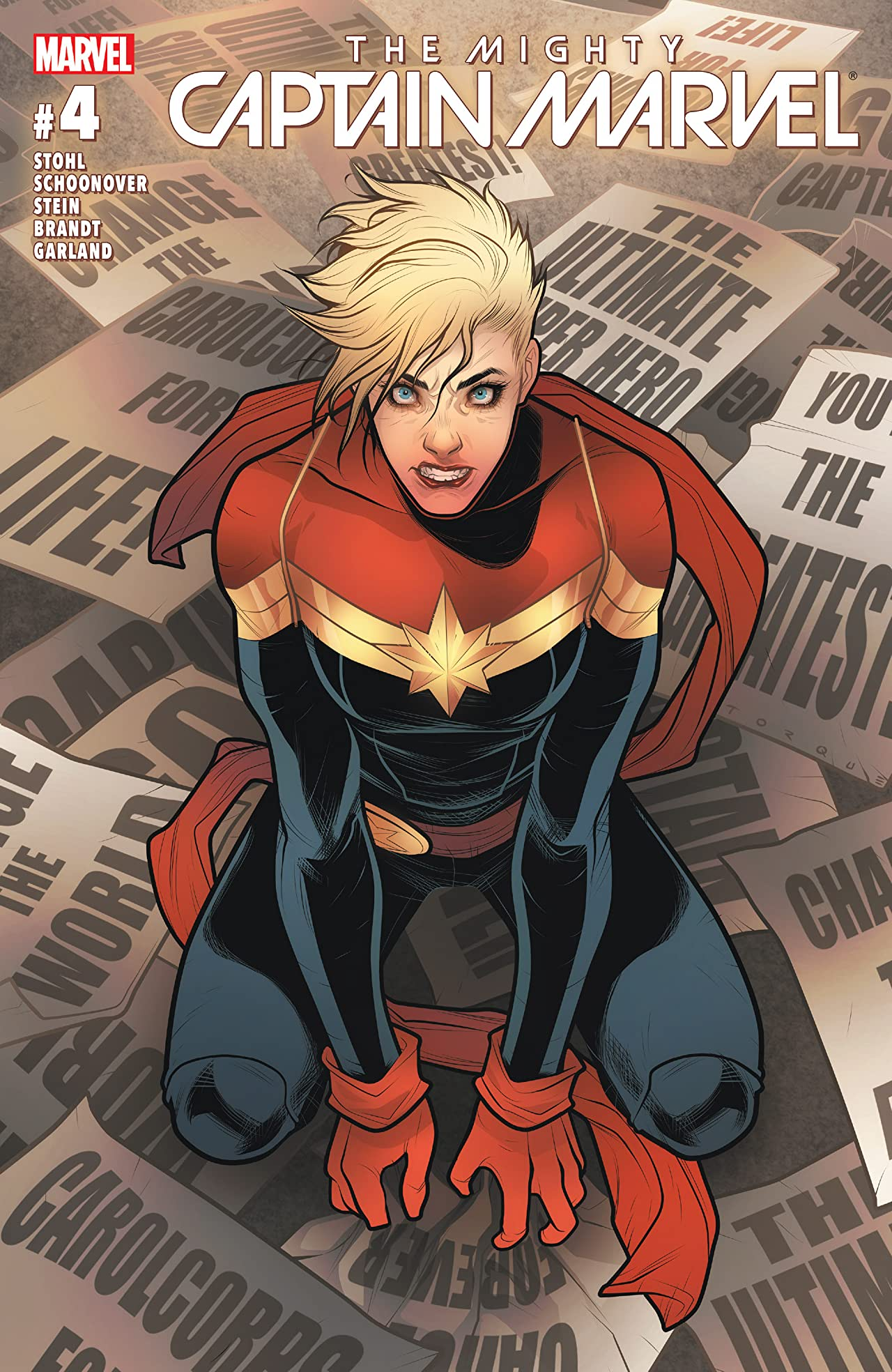 The Mighty Captain Marvel (2016-2017) #4