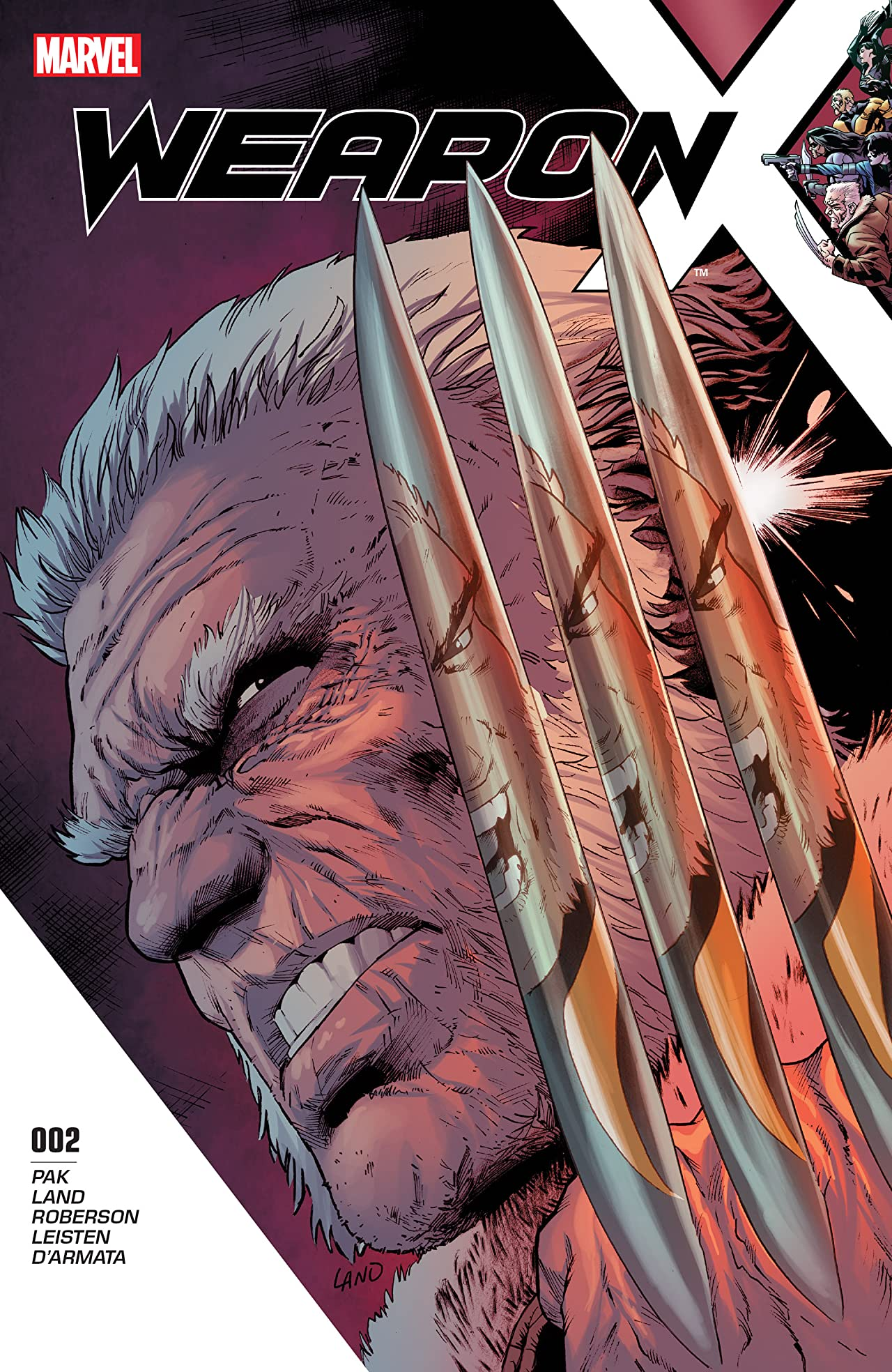 Weapon X (2017-) #2