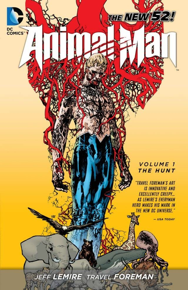 Animal Man (2011-2014) Vol. 1: The Hunt