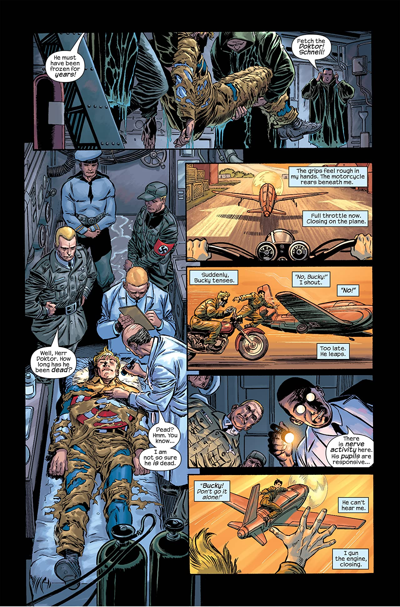 Captain America: Marvel Knights Vol. 2