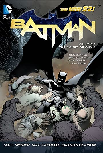 Batman (2011-2016) Vol. 1: The Court of Owls