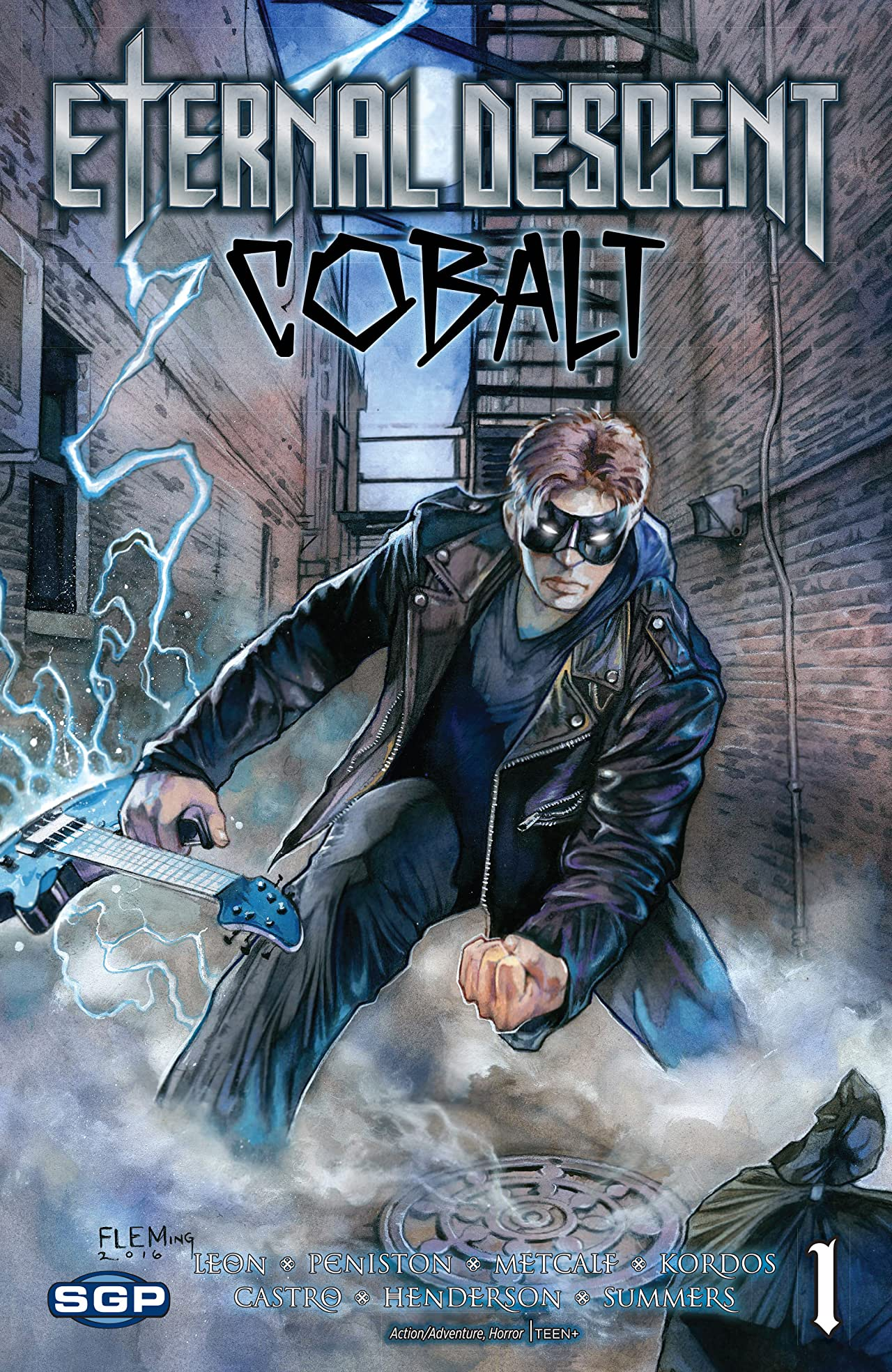 Eternal Descent: Cobalt #1