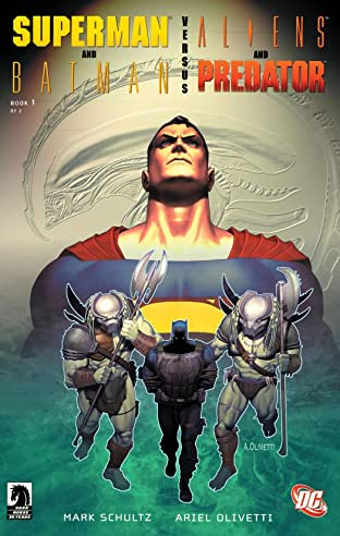 Superman/Batman vs. Aliens/Predator (2007) #1
