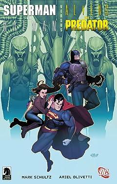 Superman/Batman vs. Aliens/Predator (2007) #2