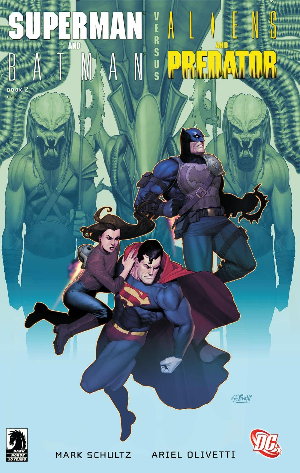 Superman/Batman vs. Aliens/Predator (2007) #2