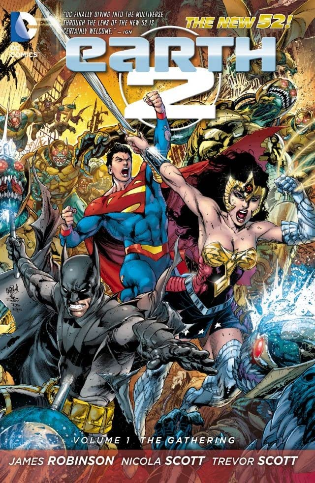 Earth 2 (2012-2015) Vol. 1: The Gathering