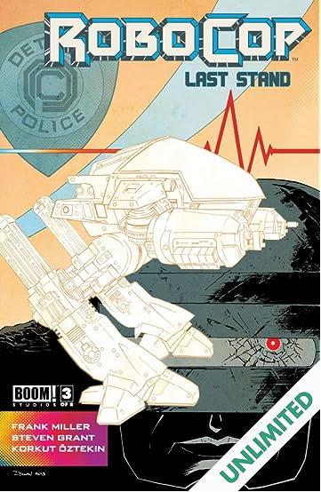 Robocop: Last Stand #3 (of 8)