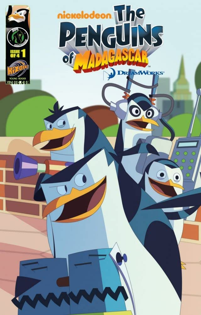 The Penguins of Madagascar #1 (of 4)