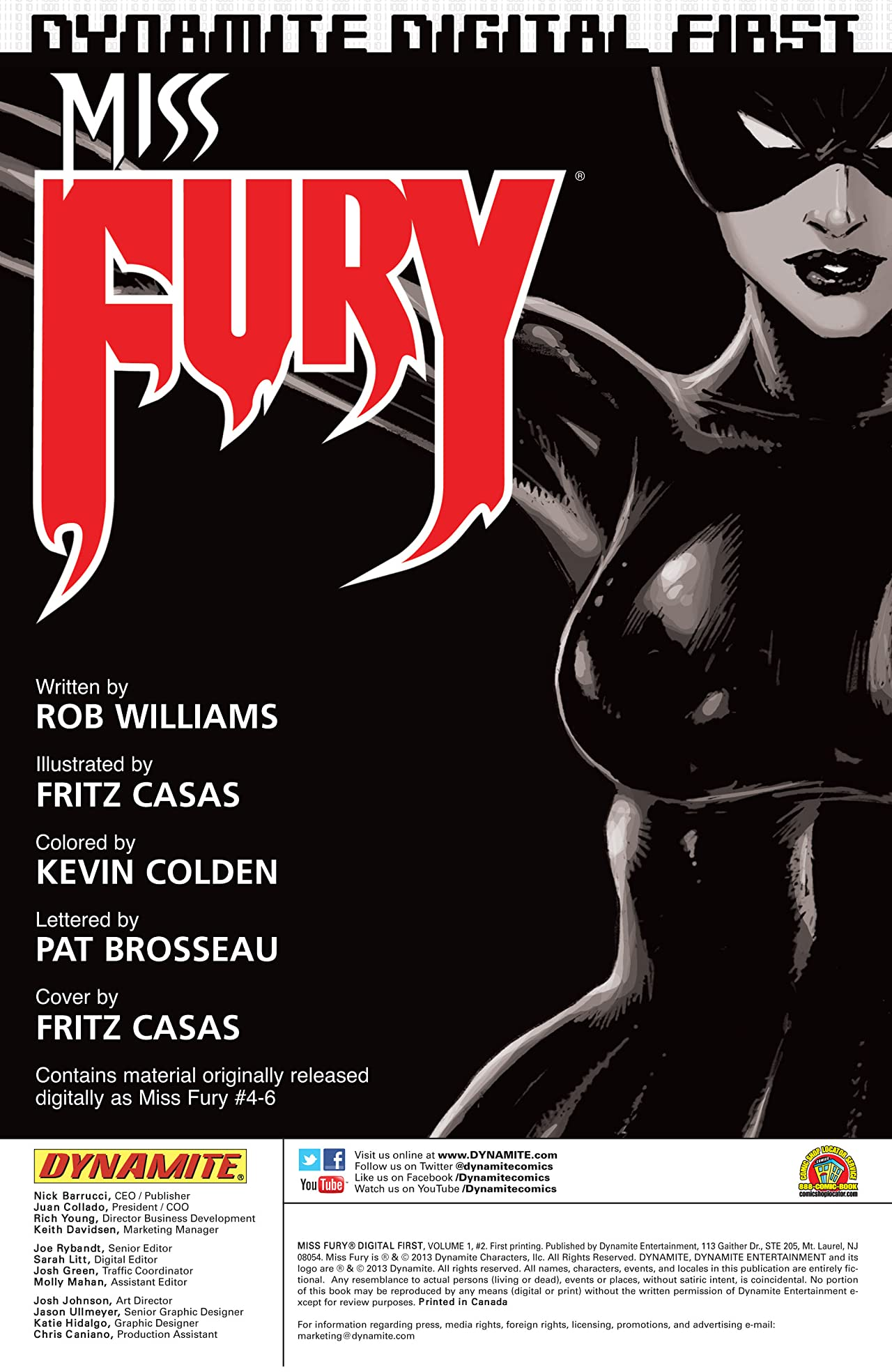 Miss Fury Digital: Part 2