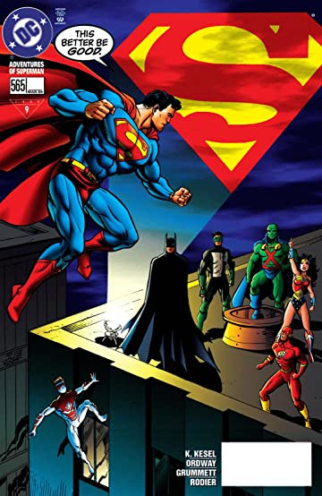 Adventures of Superman (1986-2006) #565