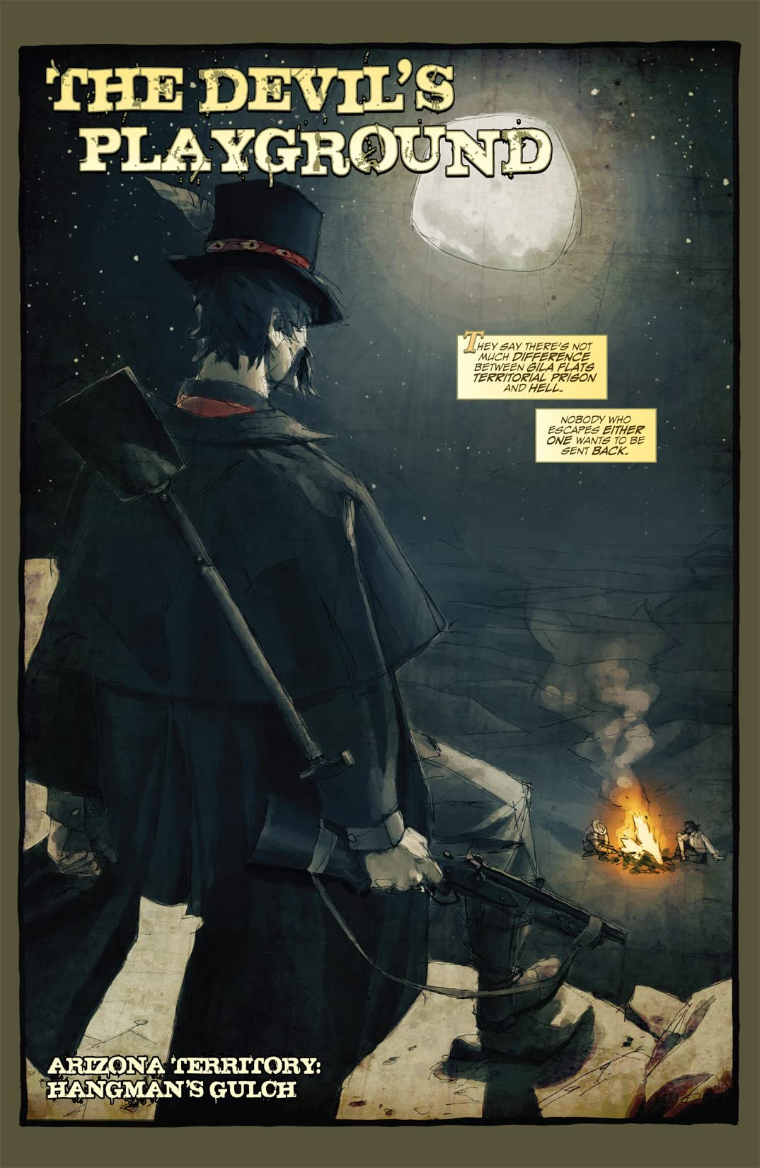 Graveslinger #1 (of 4)
