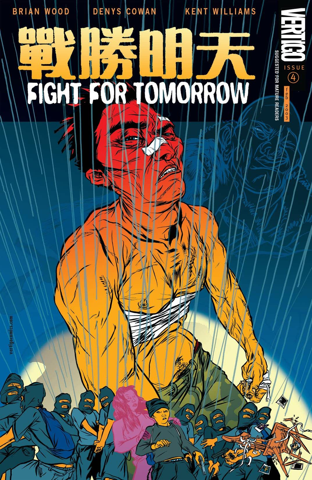 Fight For Tomorrow (2002-2003) #4