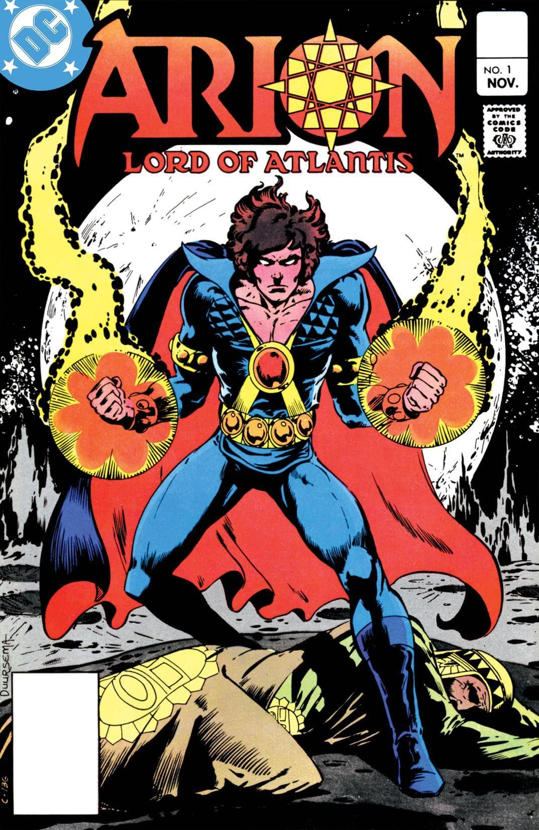 Arion, Lord of Atlantis (1982-1985) #1