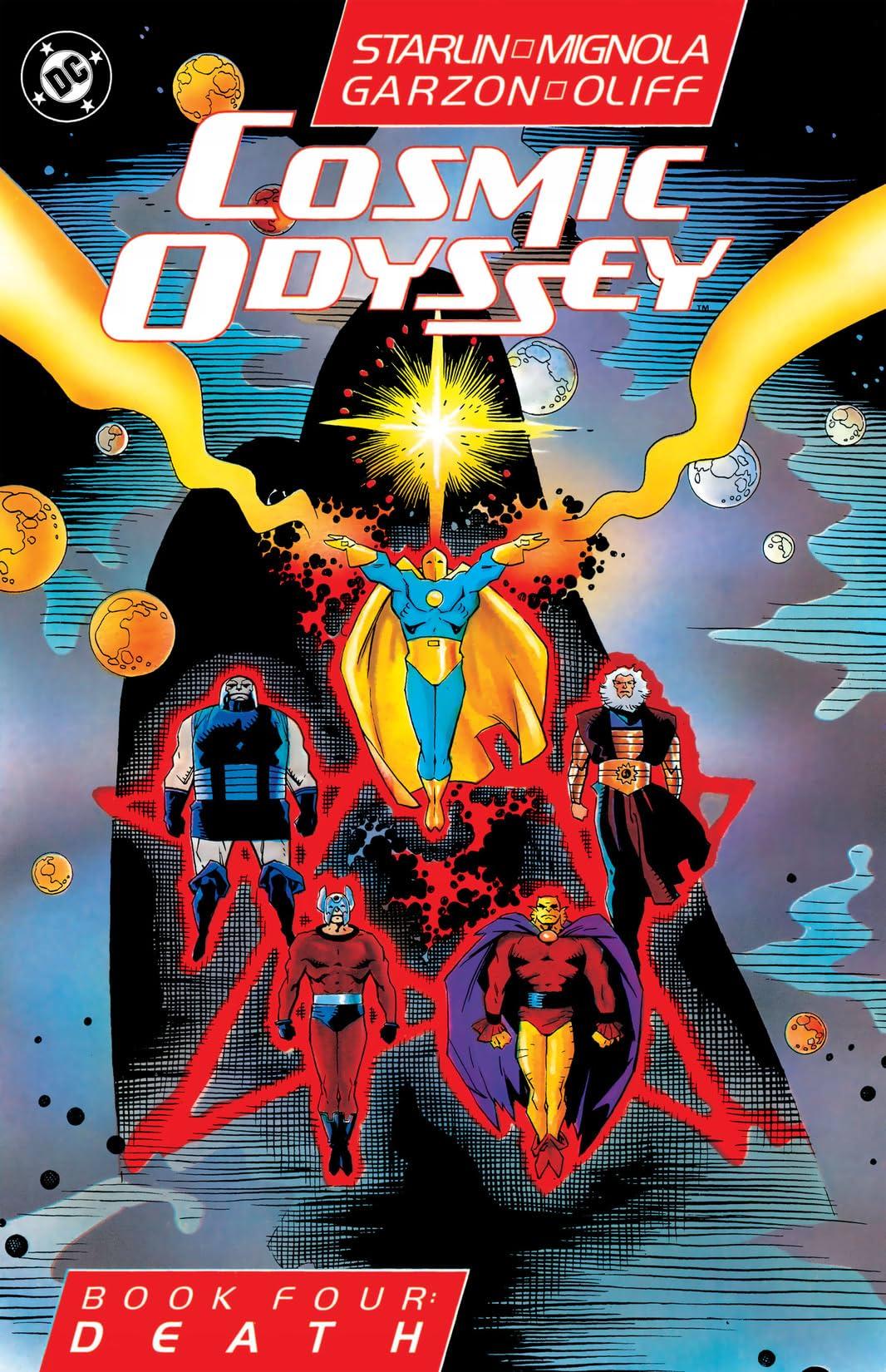 Cosmic Odyssey (1988-1989) #4