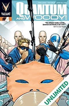 Quantum and Woody (2013- ) #4: Digital Exclusives Edition