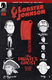 Lobster Johnson: The Pirate's Ghost #2