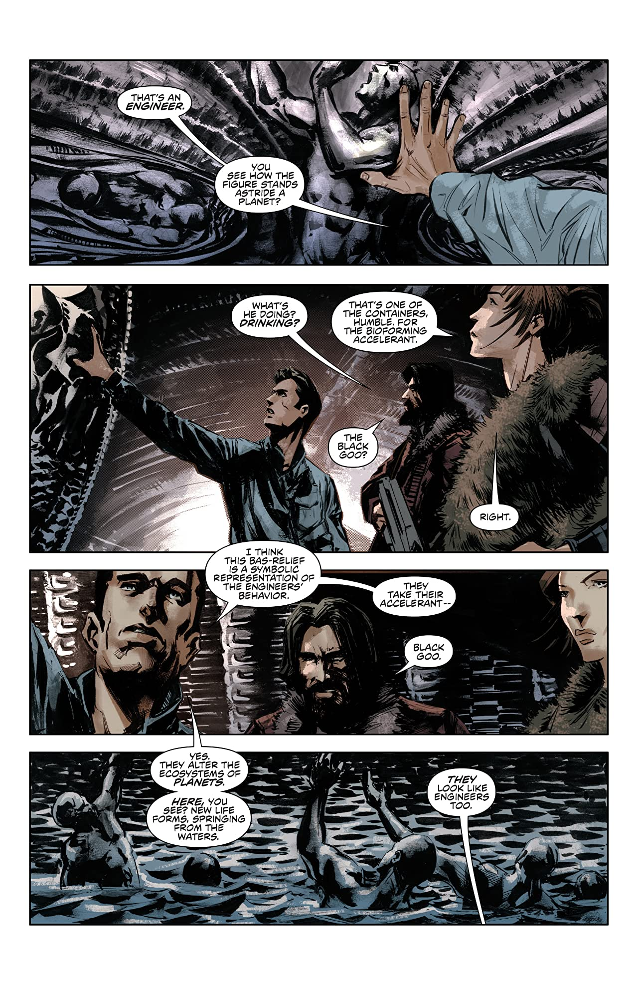 Prometheus: Life and Death (One-shot)