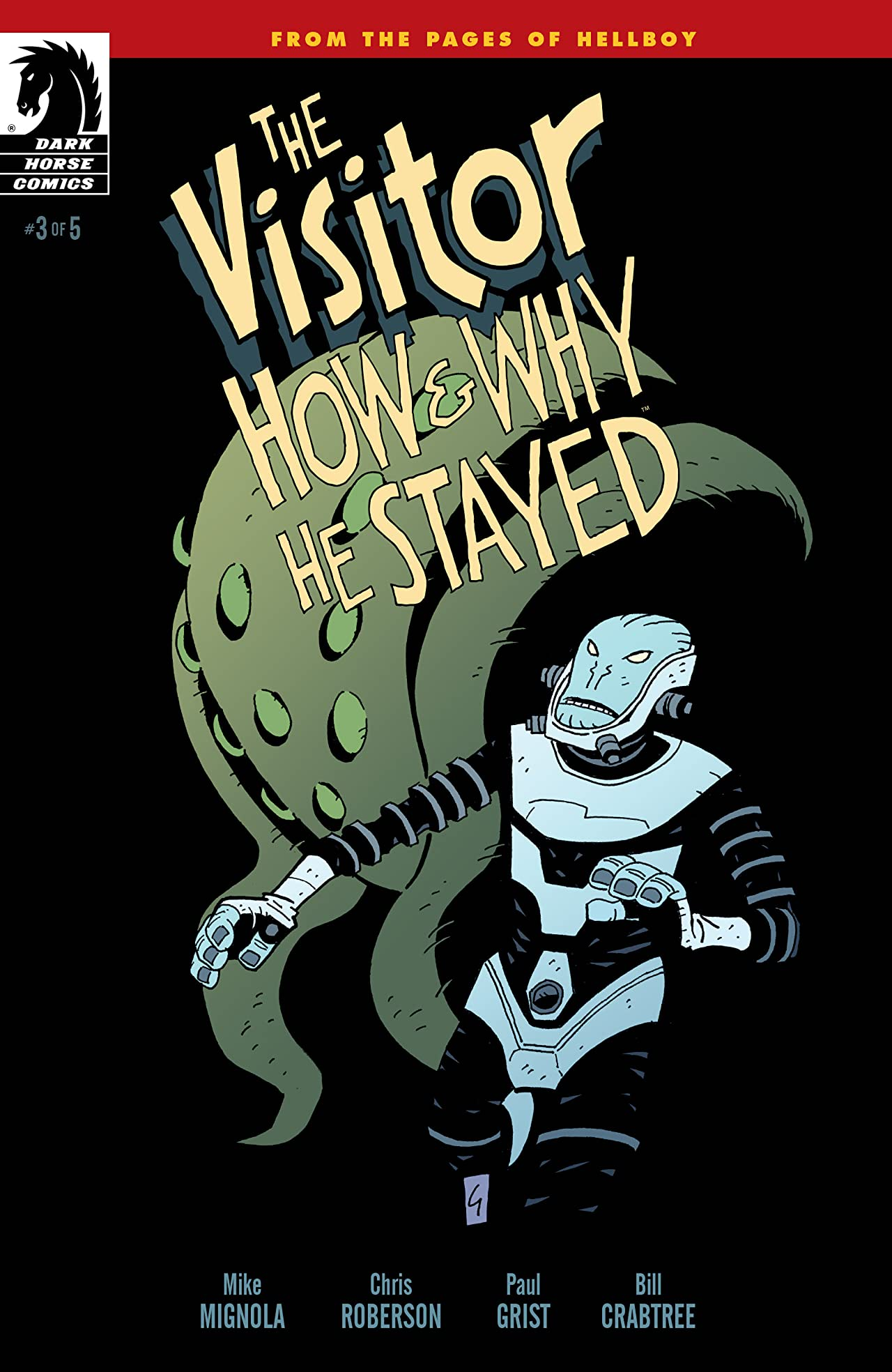 The Visitor: How and Why He Stayed #3