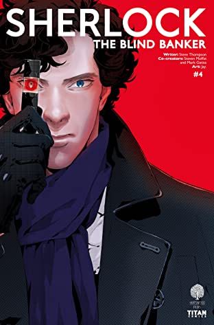 Sherlock: The Blind Banker No.4