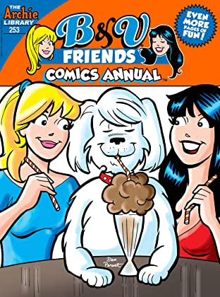B & V Friends Comics Double Digest #253