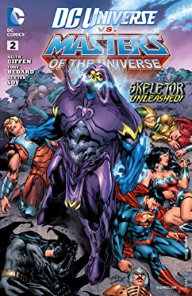 DC Universe vs. The Masters of the Universe (2013) #2 (of 6)