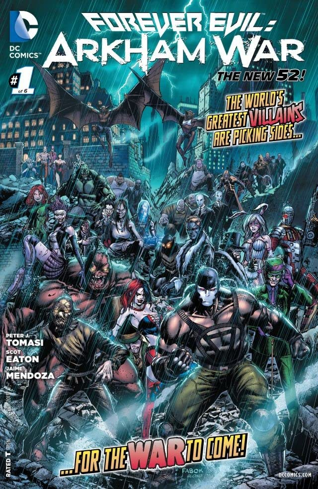 Forever Evil: Arkham War (2013-2014) #1 (of 6)