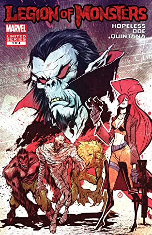 Legion of Monsters (2011) #1 (of 4)
