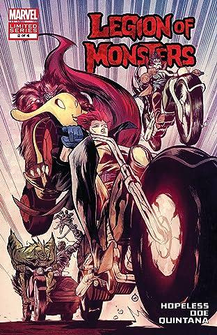 Legion of Monsters (2011) #2 (of 4)