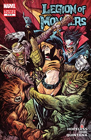 Legion of Monsters (2011) #3 (of 4)