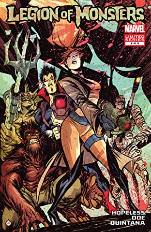 Legion of Monsters (2011) #4 (of 4)