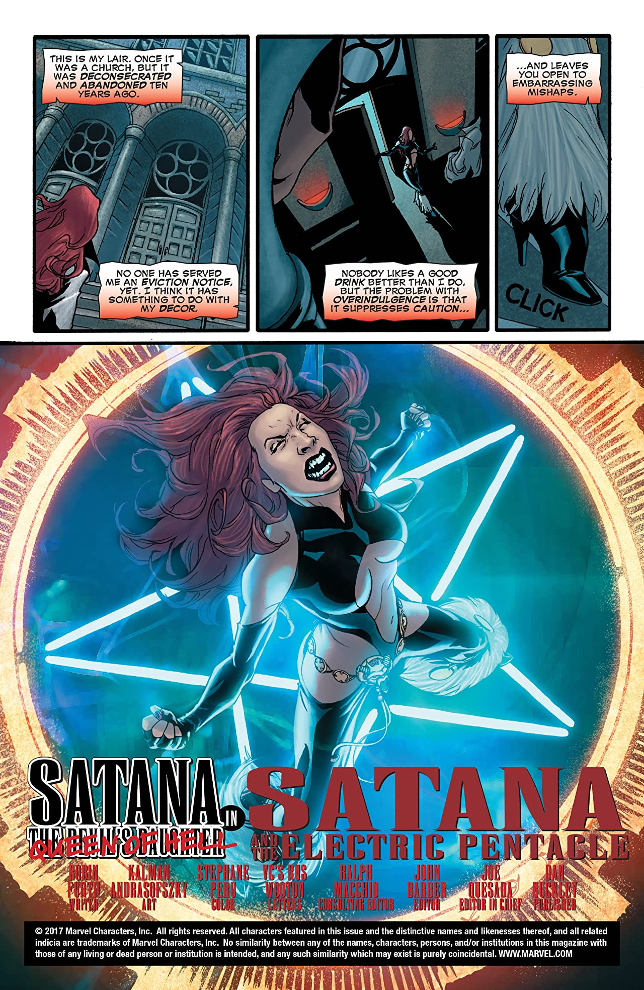 Legion of Monsters: Satana (2007) #1