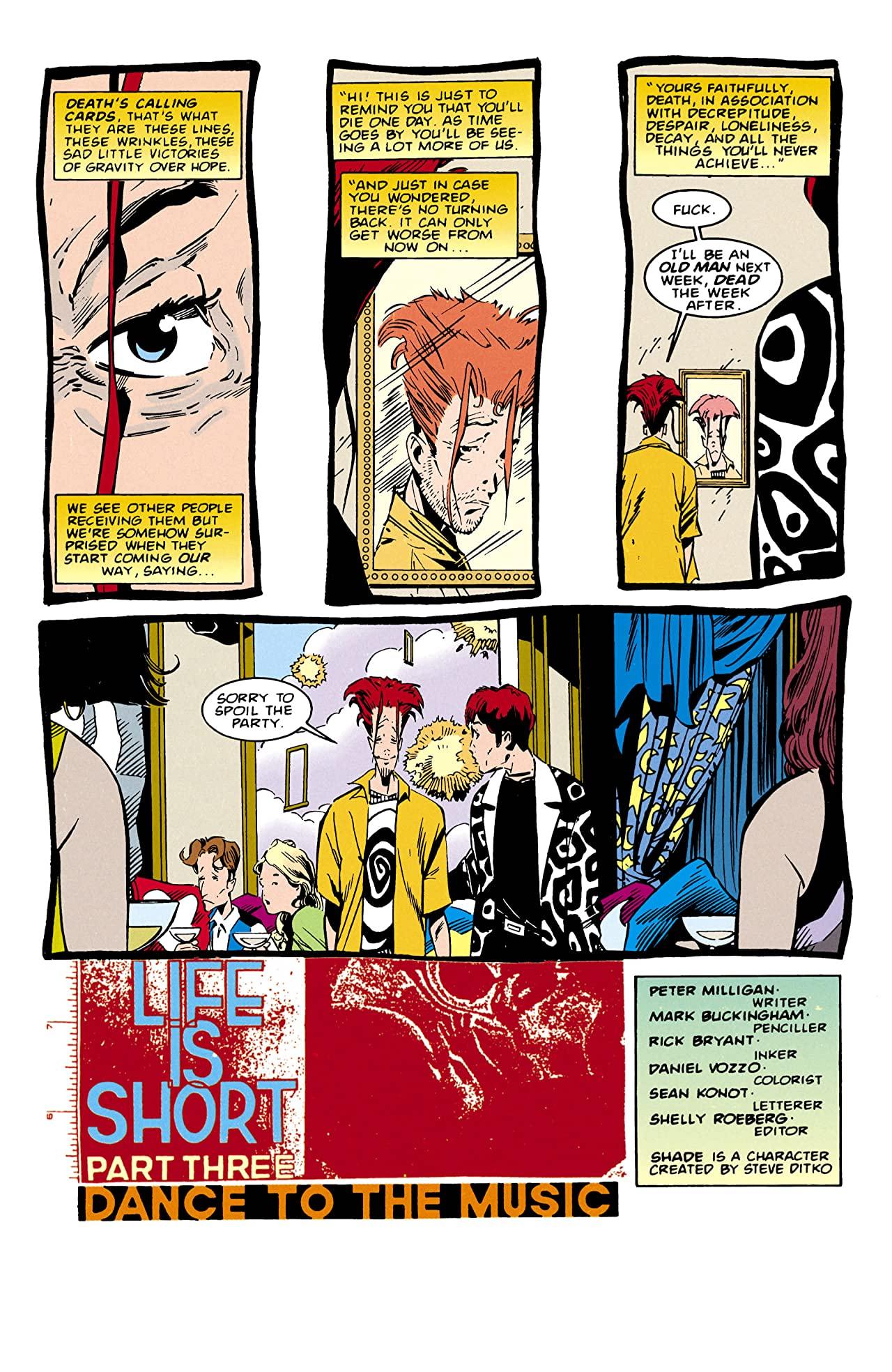 Shade, the Changing Man (1990-1996) #57