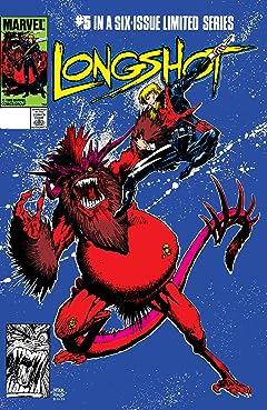 Longshot (1985-1986) #5 (of 6)
