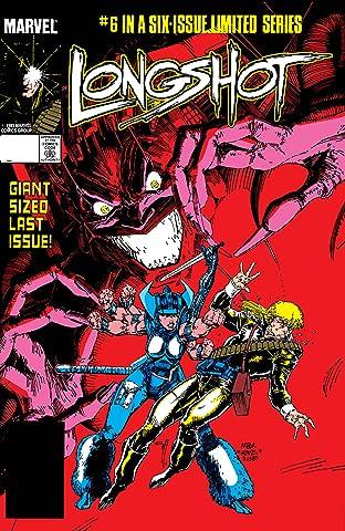 Longshot (1985-1986) #6 (of 6)