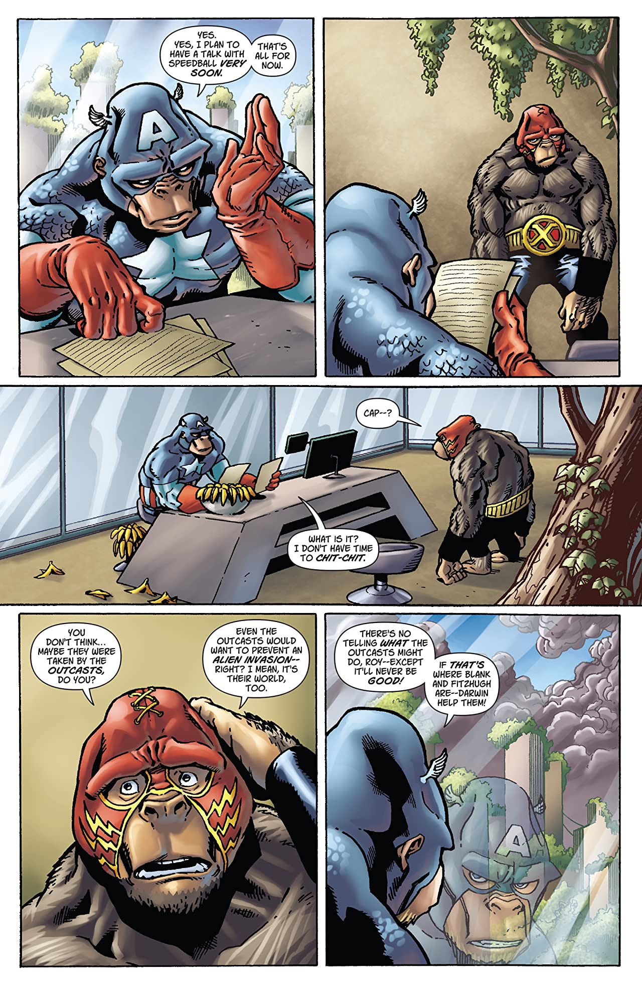 Marvel Apes (2008) #3 (of 4)