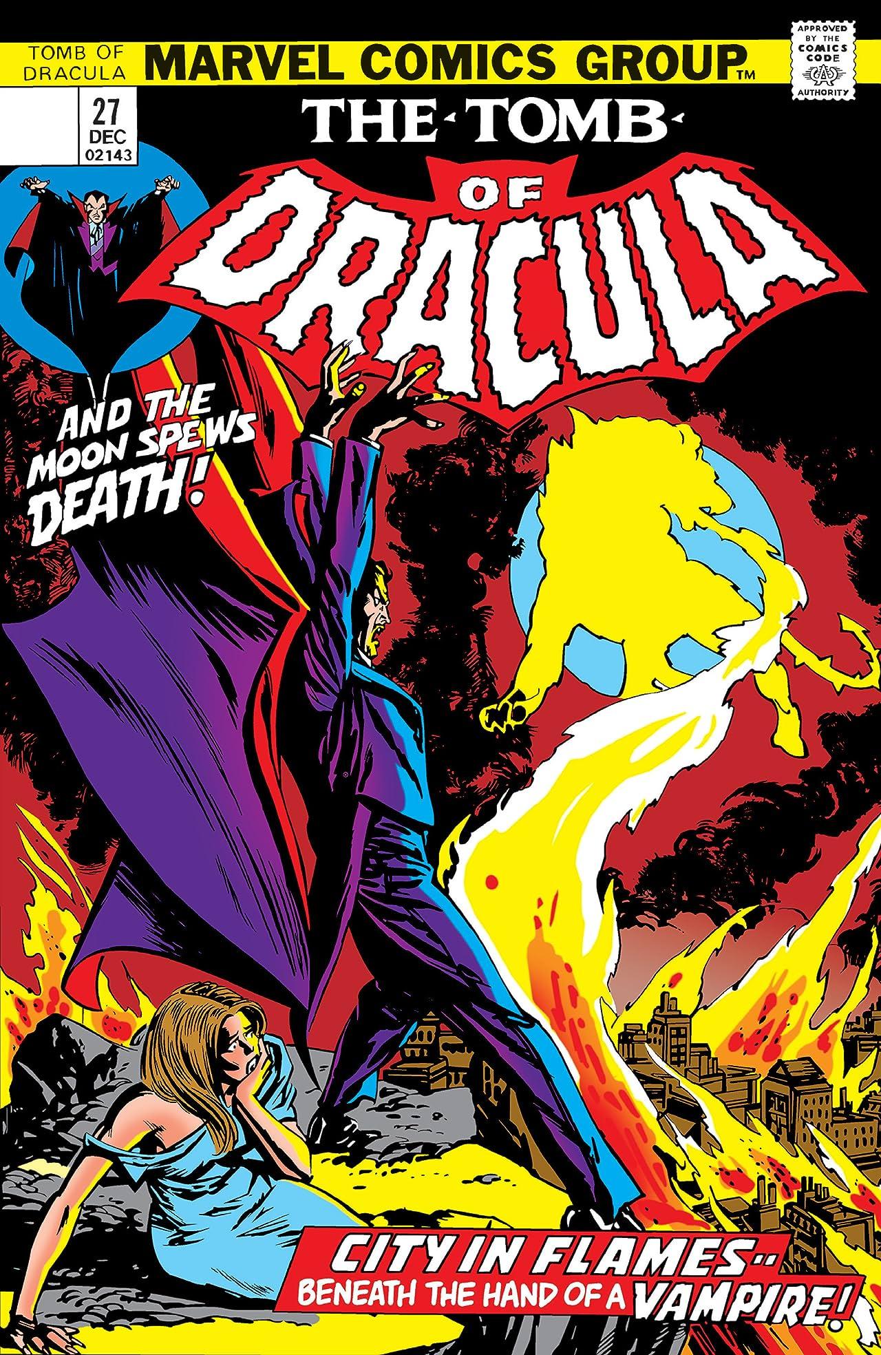 Tomb of Dracula (1972-1979) #27