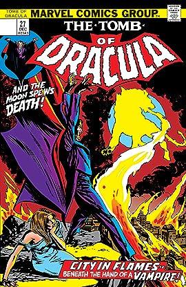 Tomb of Dracula (1972-1979) No.27