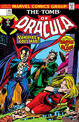 Tomb of Dracula (1972-1979) No.29