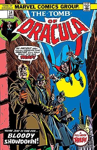 Tomb of Dracula (1972-1979) #34