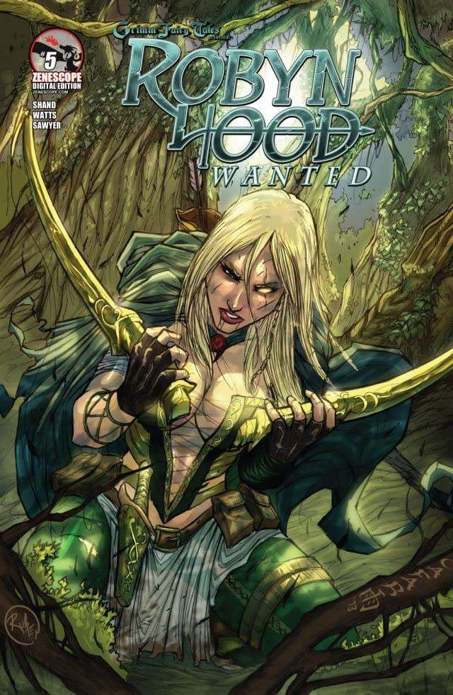 Robyn Hood #5 (of 5): Wanted