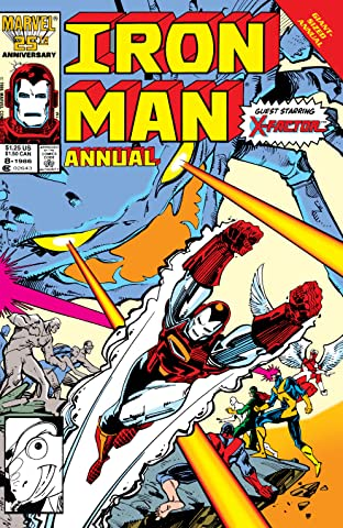 Iron Man (1968-1996) Annual #8