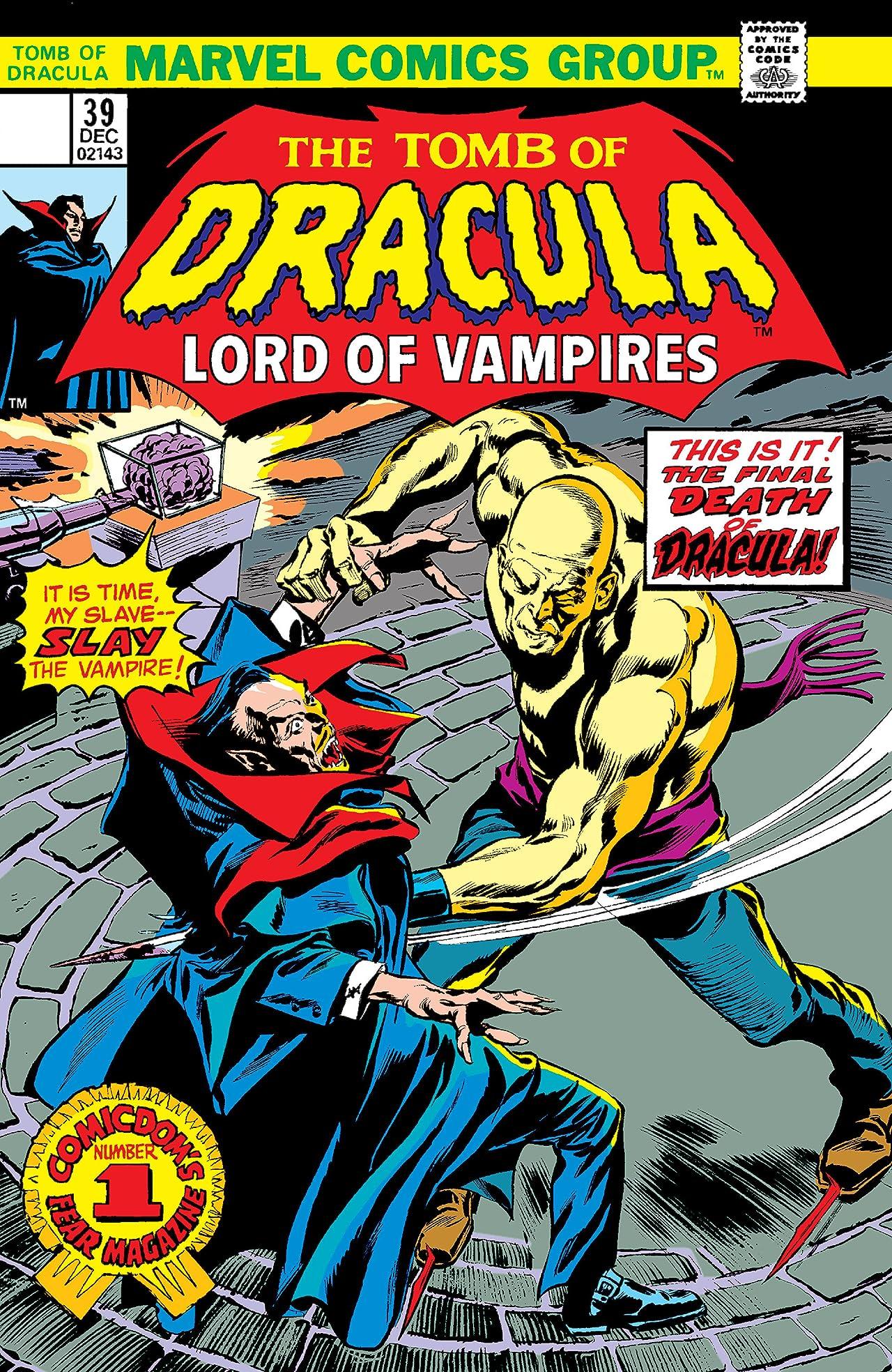 Tomb of Dracula (1972-1979) #39